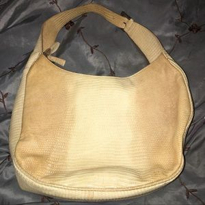 Designer made in Italy oiled-leather handbag purse